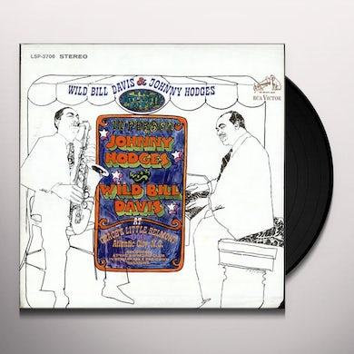Johnny Hodges & Wild Bill Davis IN ATLANTIC CITY Vinyl Record