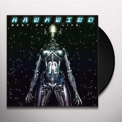 Hawkwind LIVE HITS Vinyl Record