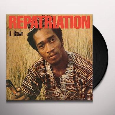 U Brown REPATRIATION + DICKIE RANKING Vinyl Record