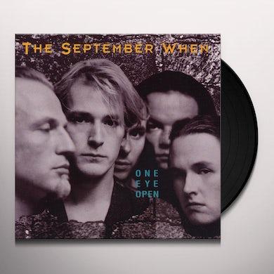 September When ONE EYE OPEN Vinyl Record