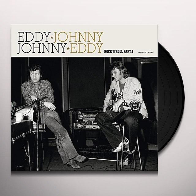 Johnny Hallyday ROCK'N ROLL PART 1 Vinyl Record