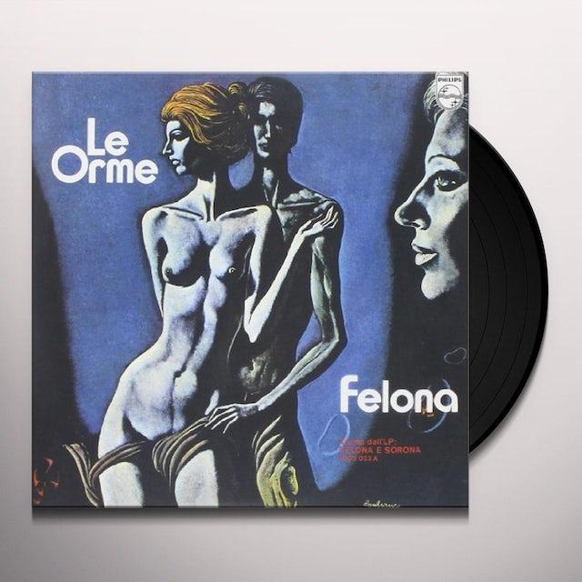Orme FELONA/L'EQUILIBRIO Vinyl Record