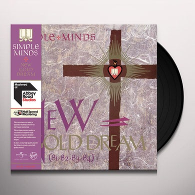 Simple Minds NEW GOLD DREAM - HALF SPEED Vinyl Record