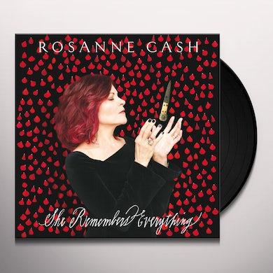 Rosanne Cash She Remembers Everything (Super Deluxe Box Set)(2 CD + LP) Vinyl Record