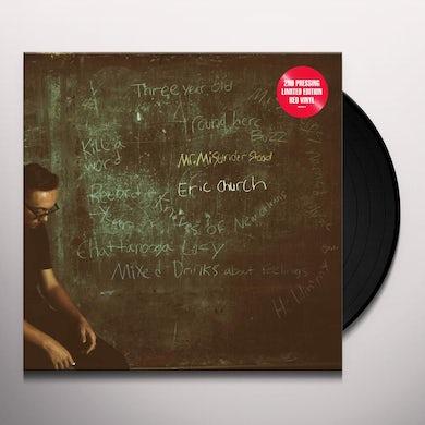 Eric Church Mr. Misunderstood (LP) (Red) Vinyl Record
