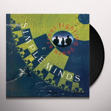 Simple Minds STREET FIGHTING YEARS Vinyl Record