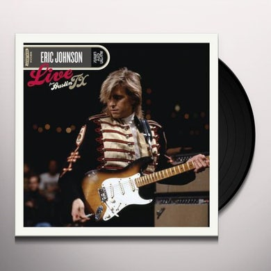 Eric Johnson LIVE FROM AUSTIN TEXAS Vinyl Record