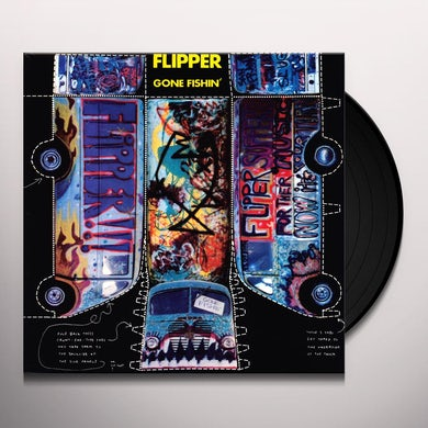 Flipper GONE FISHIN Vinyl Record