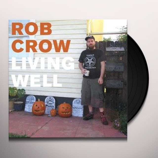 Rob Crow LIVING WELL Vinyl Record