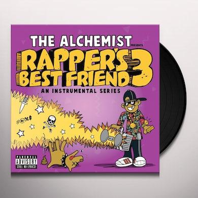 The Alchemist RAPPER'S BEST FRIEND 3 Vinyl Record