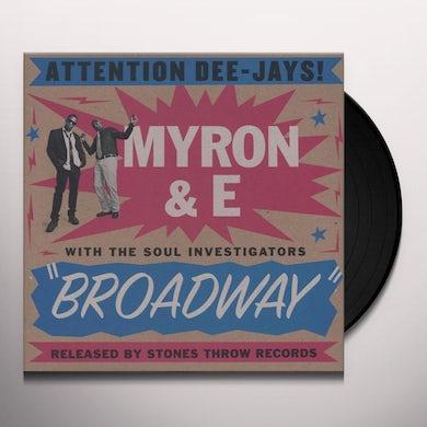 Myron & E BROADWAY Vinyl Record