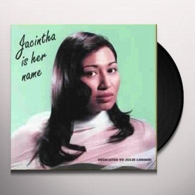 Jacintha IS HER NAME Vinyl Record