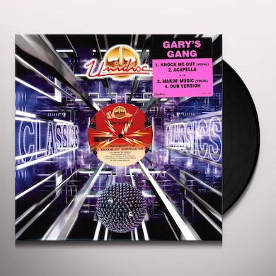 Gary'S Gang KNOCK ME OUT/MAKIN MUSIC Vinyl Record