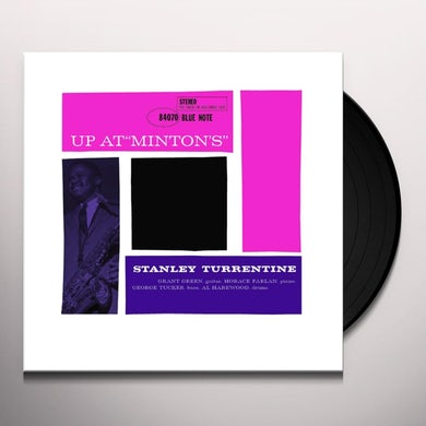 Stanley Turrentine UP AT MINTONS 2 Vinyl Record