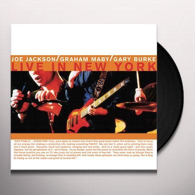 Joe Jackson SUMMER IN THE CITY: LIVE IN NEW YORK Vinyl Record