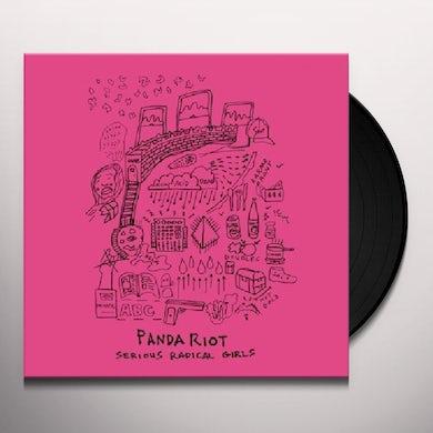 Panda Riot SERIOUS RADICAL GIRLS Vinyl Record