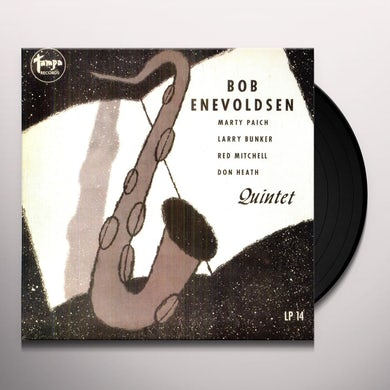 Bob Enevoldsen REFLECTIONS IN JAZZ Vinyl Record