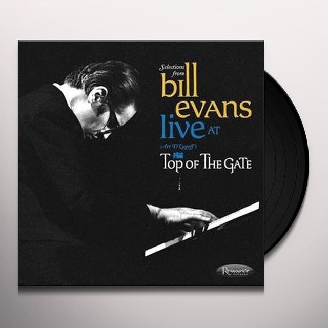 Bill Evans LIVE AT ART DLUGOFF'S TOP OF THE GATE Vinyl Record