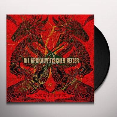 Apokalyptischen Reiter DER ROTE REITER (RED VINYL) Vinyl Record
