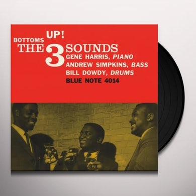 3 Sounds BOTTOM'S UP Vinyl Record