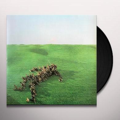 Bright Green Field Vinyl Record