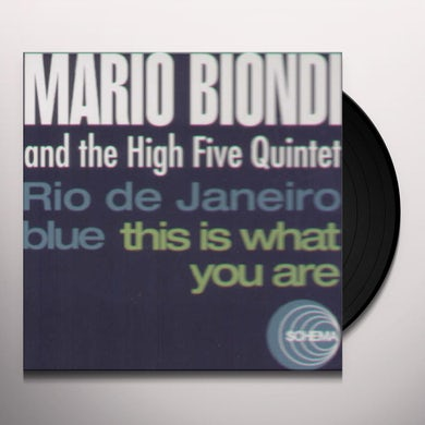Mario Biondi / High Five Quintet RIO DE JANEIRO BLUES / THIS IS WHAT YOU ARE Vinyl Record