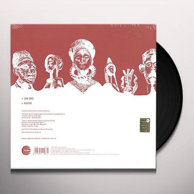 Nicola Conte SUN SONG / NIGERIA Vinyl Record