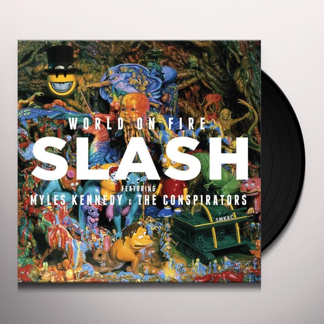 Slash / Myles Kennedy & The Conspirators WORLD ON FIRE Vinyl Record