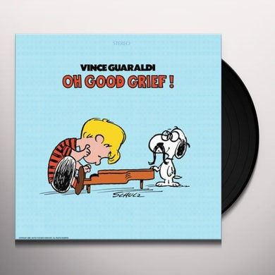 Vince Guaraldi OH GOOD GRIEF - Limited Edition Red Colored Vinyl Record