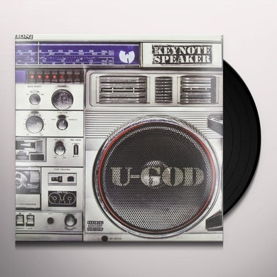 U-God KEYNOTE SPEAKER Vinyl Record