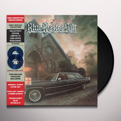 Blue Oyster Cult ON YOUR FEET OR ON YOUR KNEES (TRANSLUCENT BLUE) Vinyl Record