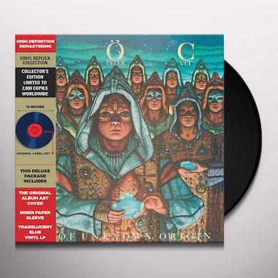 Blue Oyster Cult FIRE OF UNKNOWN ORIGIN (TRANSLUCENT BLUE VINYL) Vinyl Record