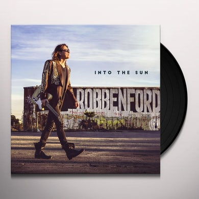 Robben Ford INTO THE SUN Vinyl Record - 180 Gram Pressing, Digital Download Included