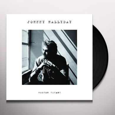 Johnny Hallyday RESTER VIVANT Vinyl Record