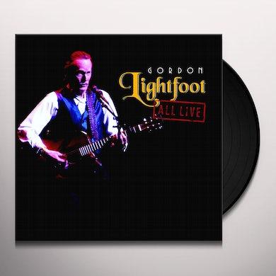 Gordon Lightfoot ALL LIVE Vinyl Record