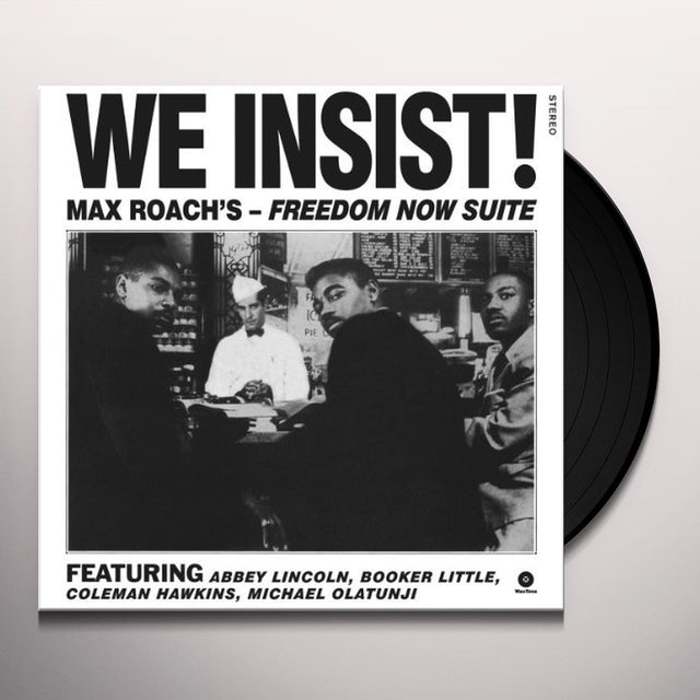Max Roach WE INSIST! Vinyl Record - Spain Release