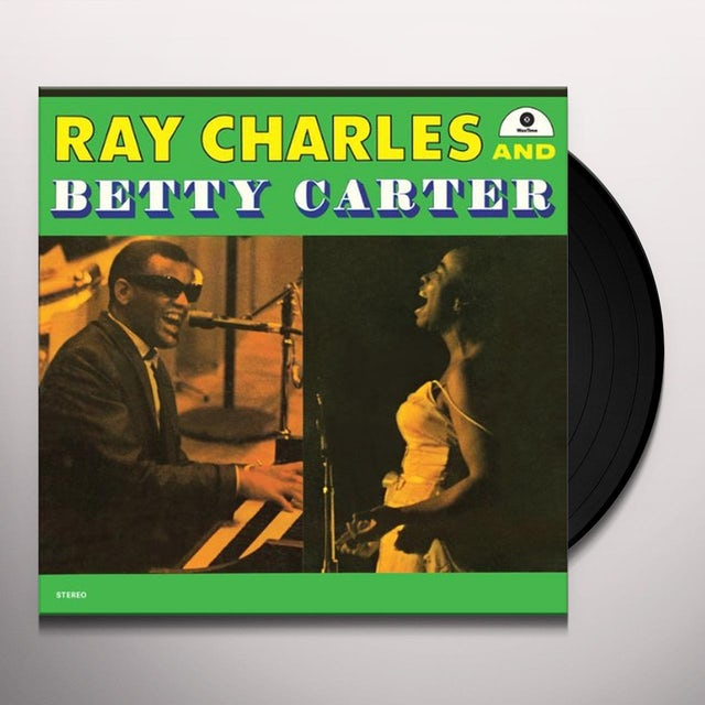 Ray Charles & Betty Carter Vinyl Record - Spain Release