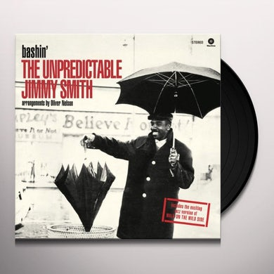 BASHIN'-THE UNPREDICTABLE JIMMY SMITH Vinyl Record - Spain Release