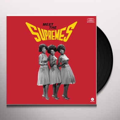 MEET THE SUPREMES Vinyl Record - Spain Release