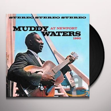 Muddy Waters AT NEWPORT 1960 Vinyl Record - Spain Release