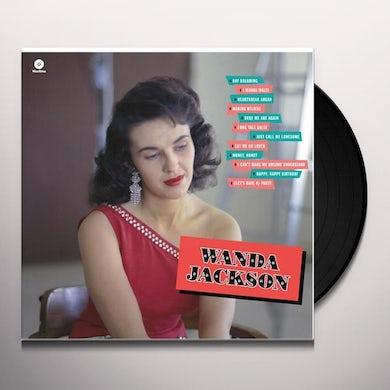 WANDA JACKSON-DEBUT ALBUM Vinyl Record - Spain Release
