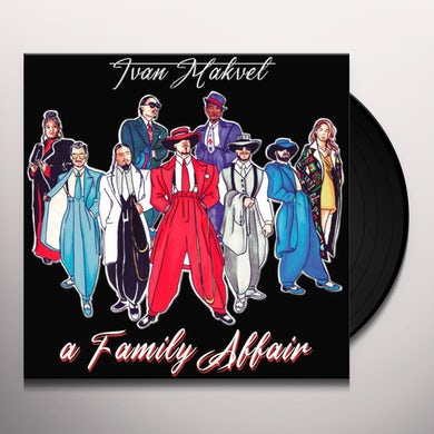 FAMILY AFFAIR Vinyl Record