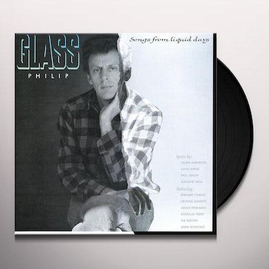 Philip Glass SONGS FROM LIQUID DAYS Vinyl Record