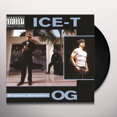 ICE-T O.G. (ORIGINAL GANGSTER) Vinyl Record
