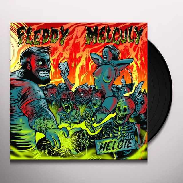 Fleddy Melculy HELGIE Vinyl Record