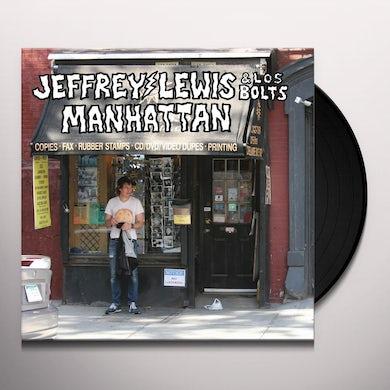 Jeffrey Lewis & Los Bolts MANHATTAN Vinyl Record