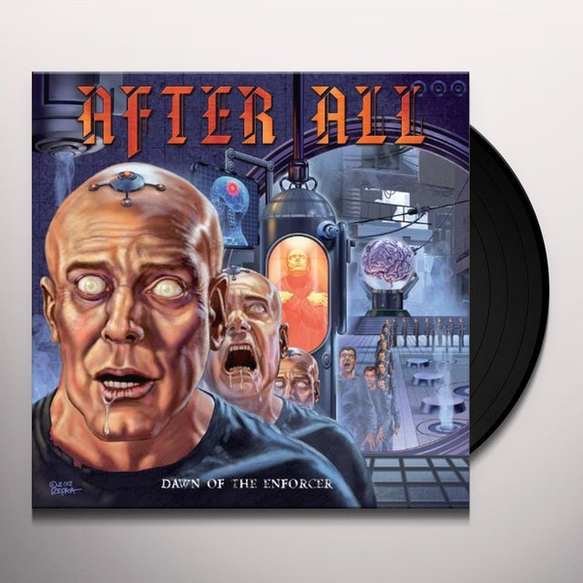 After All DAWN OF THE ENFORCER Vinyl Record
