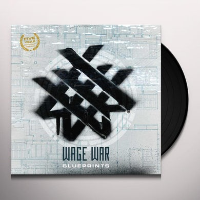 Wage War BLUEPRINTS: ANNIVERSARY EDITION Vinyl Record