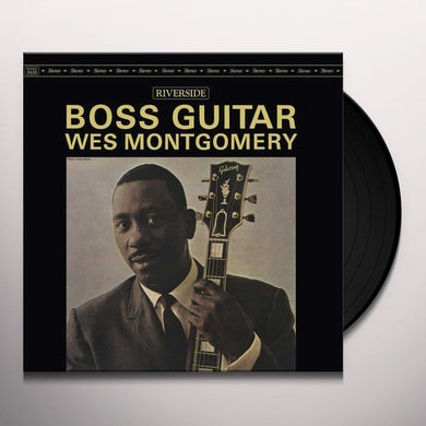 Boss Guitar Vinyl Record