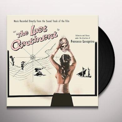 Angelo Francesco Lavagnino LOST CONTINENT / O.S.T. Vinyl Record